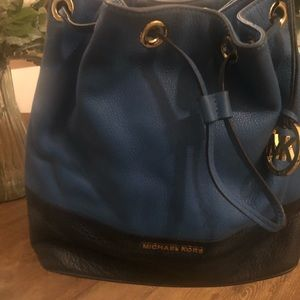 Michael Kors bucket style handbag
